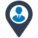 business, location icon