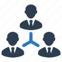 connection, team, teamwork icon