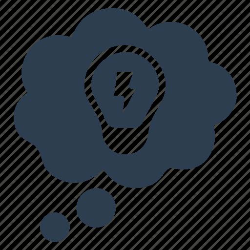 brainstorming, creativity, idea icon