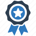 achievement, award, best quality icon