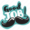 business, congratulation, hipster, job, network, social icon