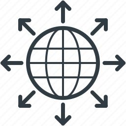 communication, global, globe, globe communication, map icon