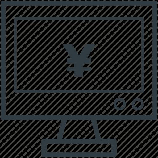 currency symbol, japan currency, japanese yen, yen, yen symbol icon