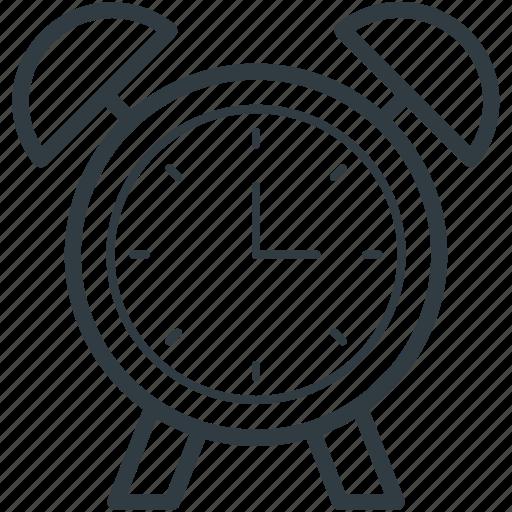 alarm clock, alert, clock, morning clock, timepiece icon
