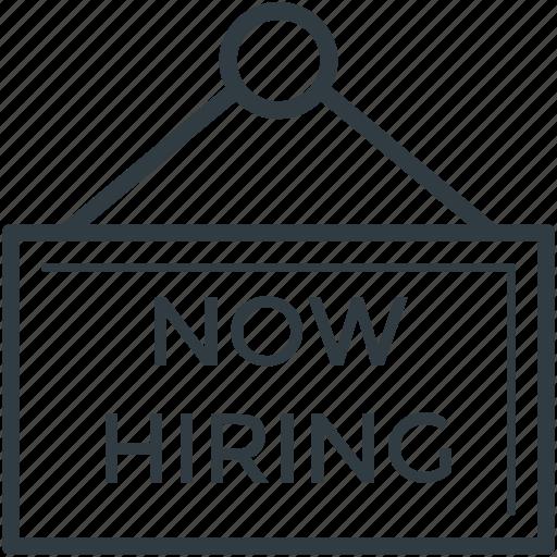 curriculum, hiring, hiring sign, human resources, job icon