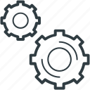 cog, cogwheel, gear, gearwheel, settings icon