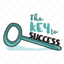 business, key, network, planning, social, strategy, success icon