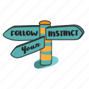 business, instinct, navigation, sign, success, traffic, way