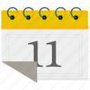 calander, date, month, schedule icon