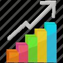 bar chart, chart, graph, growth