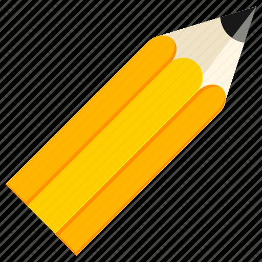 education, pencil, school, work icon