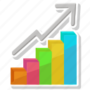 bar chart, chart, graph, growth icon