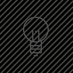 creative, energy, idea, innovation, inspiration, lightbulb, power icon