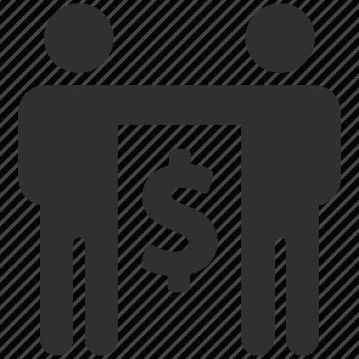 business partner, business partners, business partnership, joint venture, partnership, teamwork icon