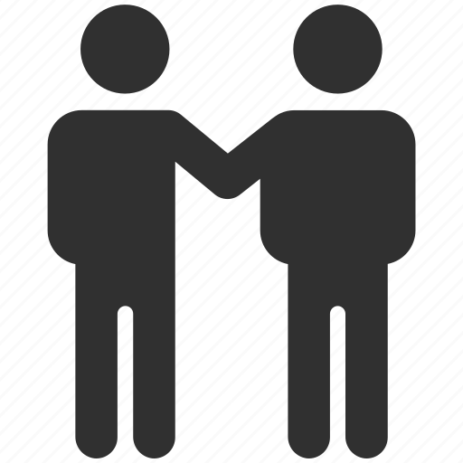 business partners, friend, friends, partner, partners, partnership icon