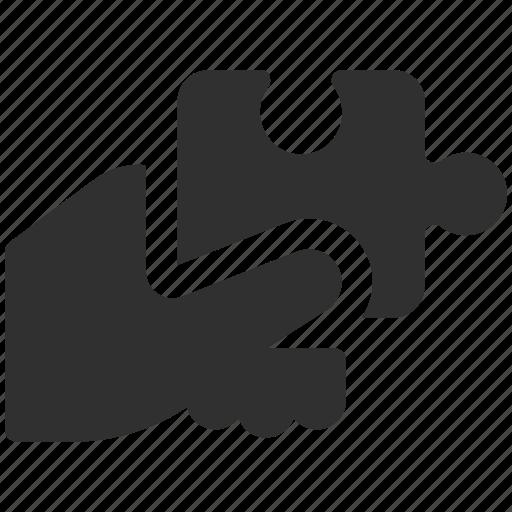 business solution, component, piece, puzzle, puzzle piece, puzzle solution, solution icon