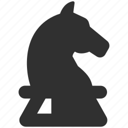 business strategy, chess knight, horse, knight, strategic approach, strategy icon