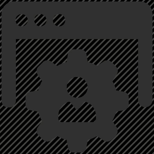 optimization, profile, profile settings, website icon