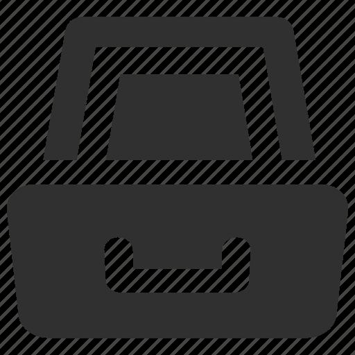 Archive, archive drawer, drawer, office drawer, storage, storage drawer icon - Download on Iconfinder