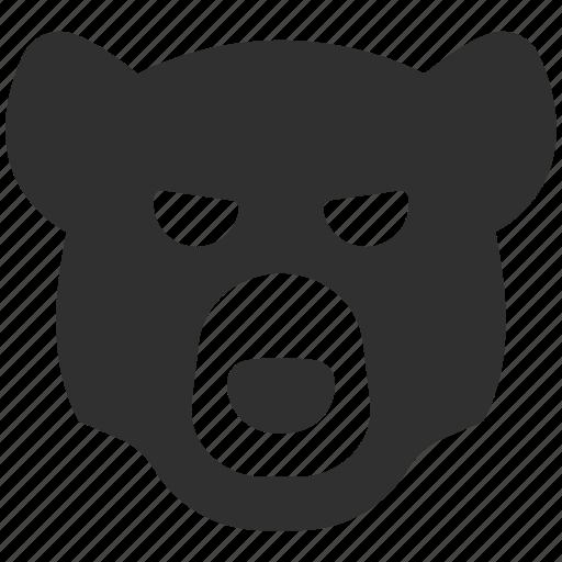 angry bear, bear, bear market, bear trend, finance, financial market icon