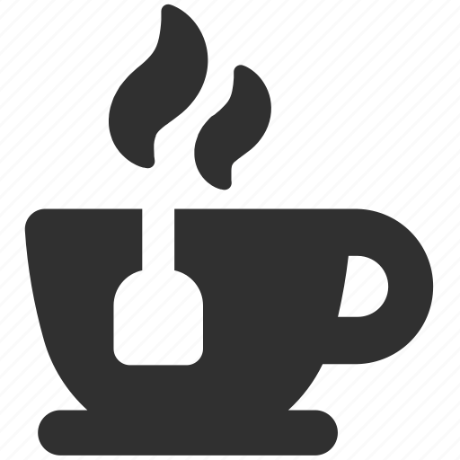 hot drink, hot tea, tea, tea bag, tea cup, tea mug icon