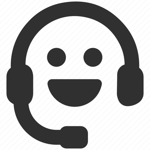 Call centre, friendly, friendly support, happy, headphones, support, support service icon - Download on Iconfinder