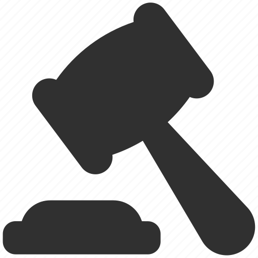 court, court justice, gavel, hammer, justice, justice hammer icon