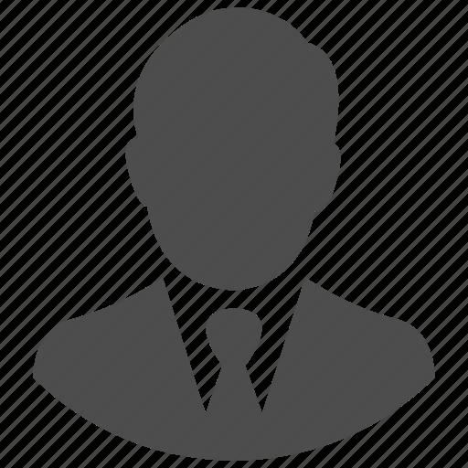 account, avatar, businessman, man, person, profile, user icon