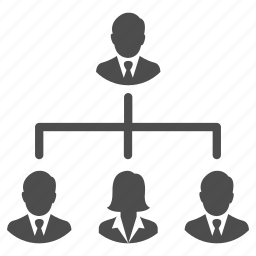 business, business team, group, hierarchy, management, people, team icon