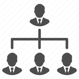 business, business men, group, hierarchy, management, people, team icon