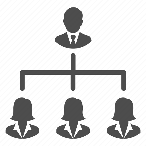 business, community, group, hierarchy, management, people, team icon