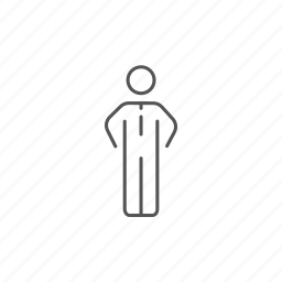 businessman, male, man, manager, standing, suit, worker icon