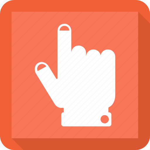 double, gesture, hand, touch icon