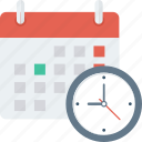 calendar, dead line, schedual, time, work icon icon