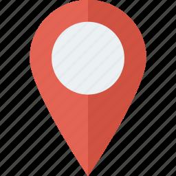 gps, location, map, navigation, pin icon icon