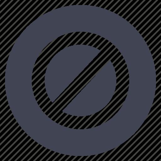 block, business, cancel, delete, remove, stop icon