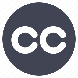 business, cc, circle, copy, right icon