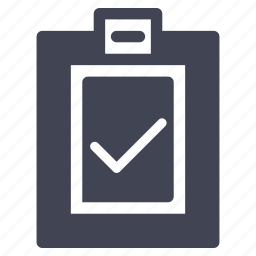 business, check, clipboard, confirm, document, list icon