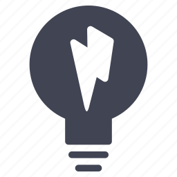 bulb, business, idea, lamp, light, lightbulb, lightening icon