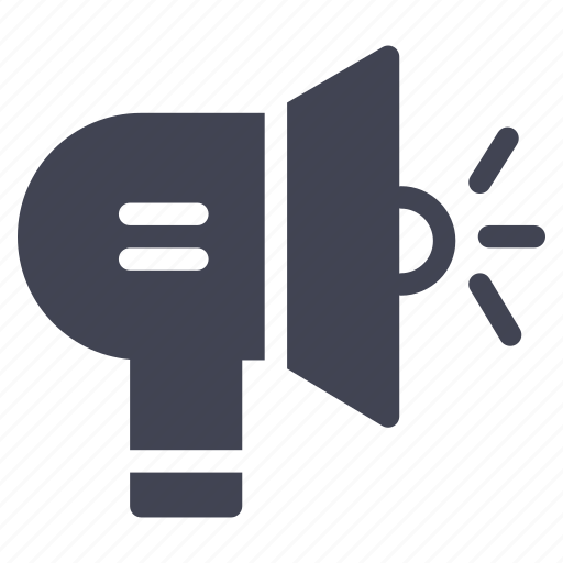 advertising, announcement, business, loud, marketing, megaphone icon