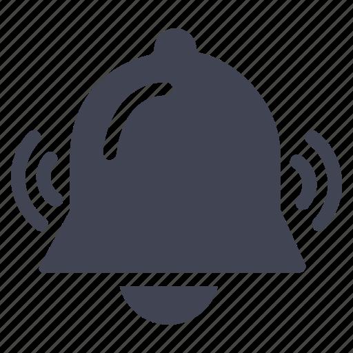 alarm, alert, bell, business, notification, ring, ringing icon
