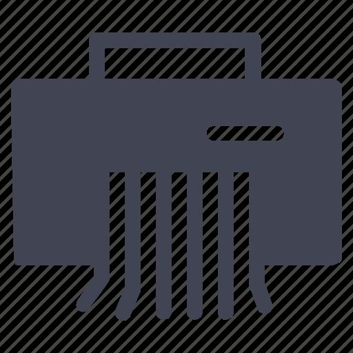 business, device, paper, printer, split icon