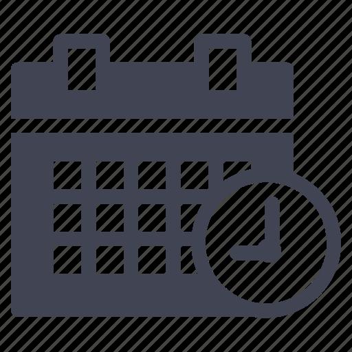 business, calendar, limit, schedule, time icon
