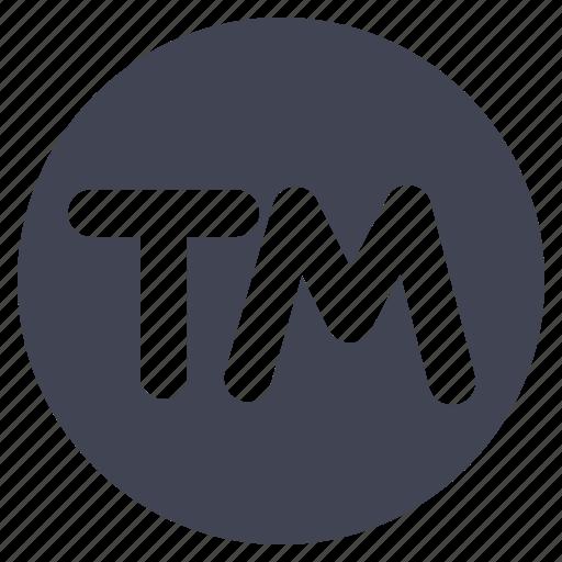 business, copy, mark, right, trade icon