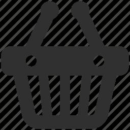 basket, shop basket, shop cart, shopping, shopping basket, shopping cart icon