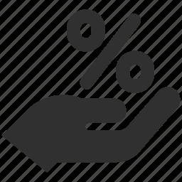 discount, percent, sale, sales discount, save money icon
