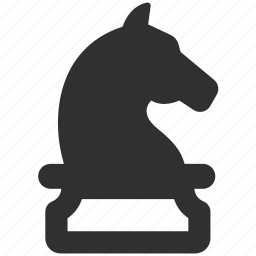 chess, horse, knight, strategy icon