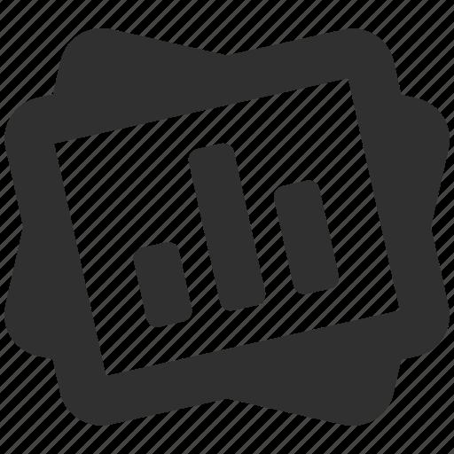 chart, data, documents, graph, presentation, sheet, slideshow icon