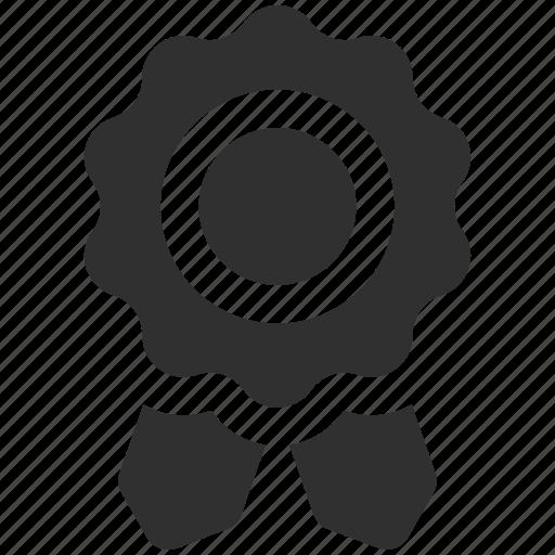 badge, quality badge, ribbon, ribbon badge icon