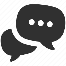 chat, chat bubbles, conversation, message, messages, talking icon